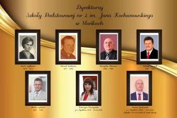 Dyrektorzy Szkoły Podstawowej nr 2 w Mońkach ( 1939 - 1977)