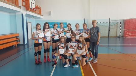 FINAŁ KINDER+SPORT w kategorii czwórek dziewcząt