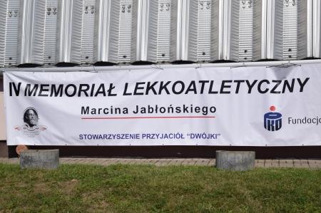 IV Memoriał Lekkoatletyczny Marcina Jabłońskiego