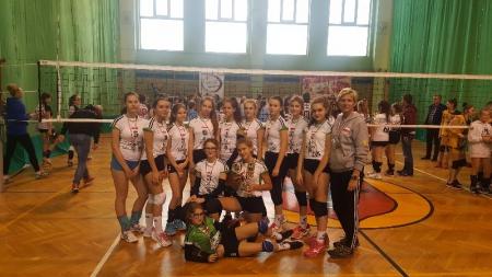 II miejsce w Turnieju Siatkarskim Młodziczek w Zambrowie