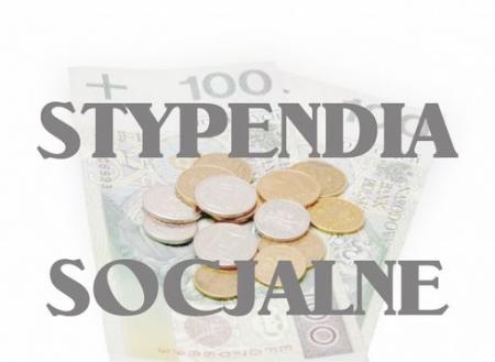 Stypendia socjalne – ważna informacja