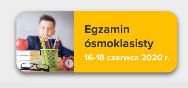 Wytyczne dotyczące organizowania i przeprowadzania w 2020 r. egzaminów