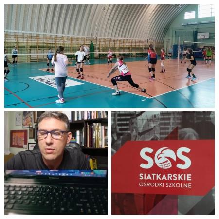 Trening mentalny z Marcinem Prusem- ambasadorem Siatkarskich Ośrodków Szkolnyc