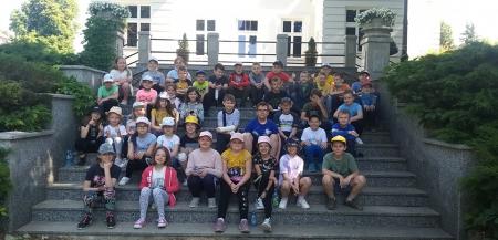 Wycieczka klas I- III do Muzeum Przyrodniczego w Drozdowie.